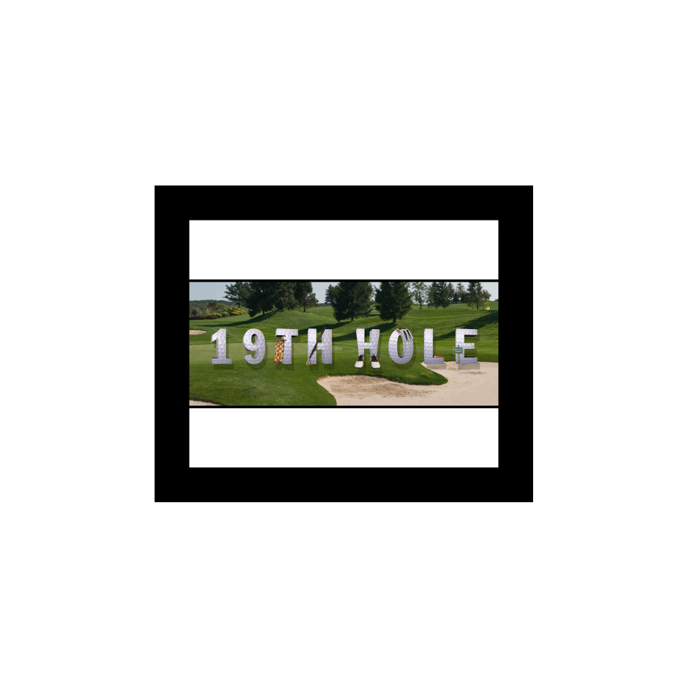 10x8 Signature Border - Black Frame
